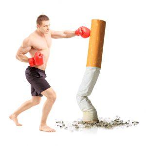 ترک سیگار با انجام تمرینات ورزشی