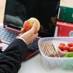 غذای سالم در محل کار