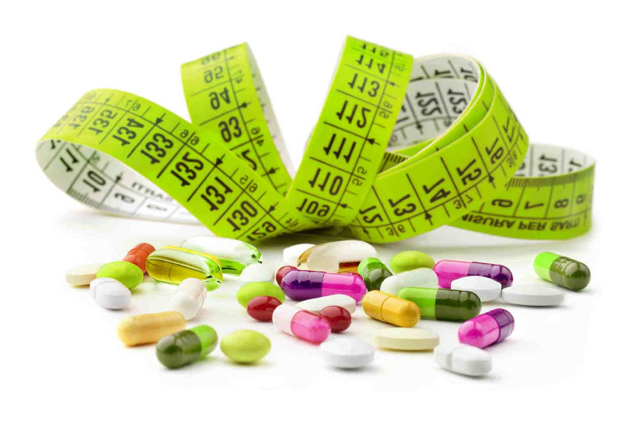 انواع داروهای لاغری و تاثیر آن ها بر وزن