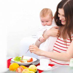 تغذیه مناسب در دوران شیردهی