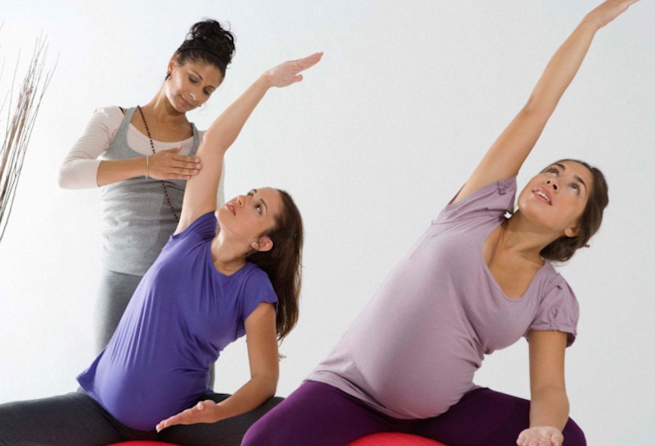 ورزش مناسب سه ماهه سوم بارداری