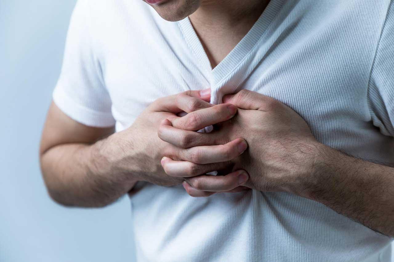 درد قفسه سینه و مشکلات گوارشی