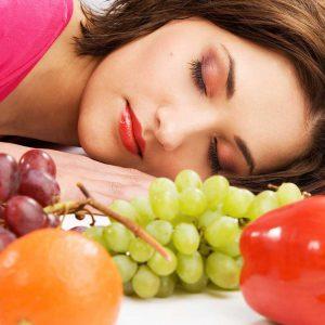 تغذیه ی مناسب برای خواب راحت
