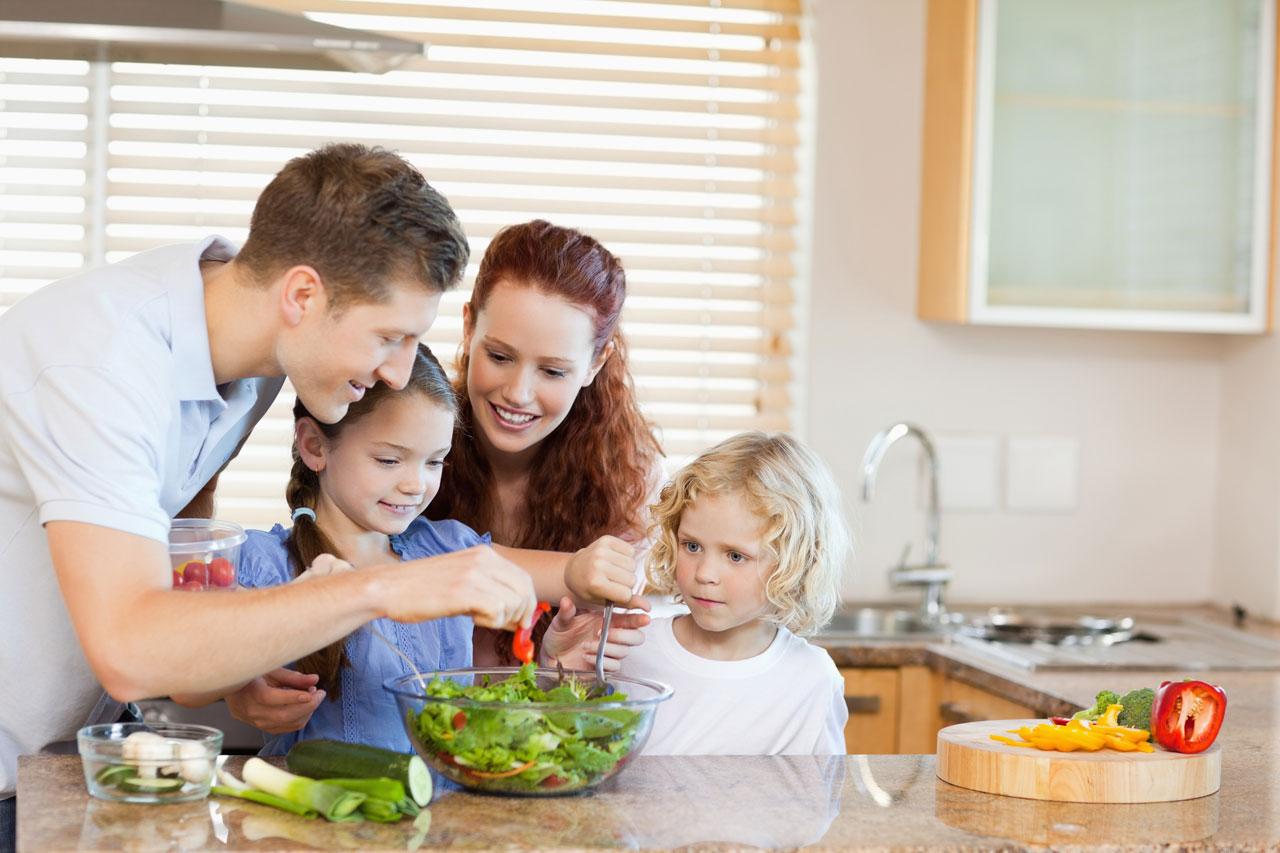نقش خانواده در کاهش وزن