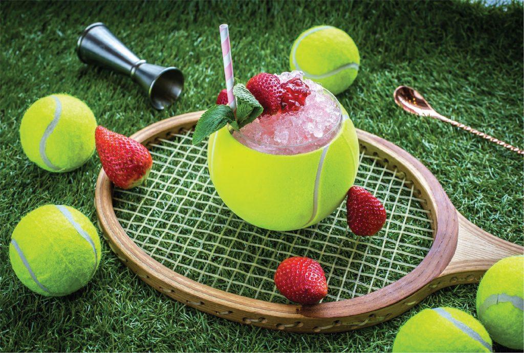 مایعات موردنیاز بازیکنان تنیس