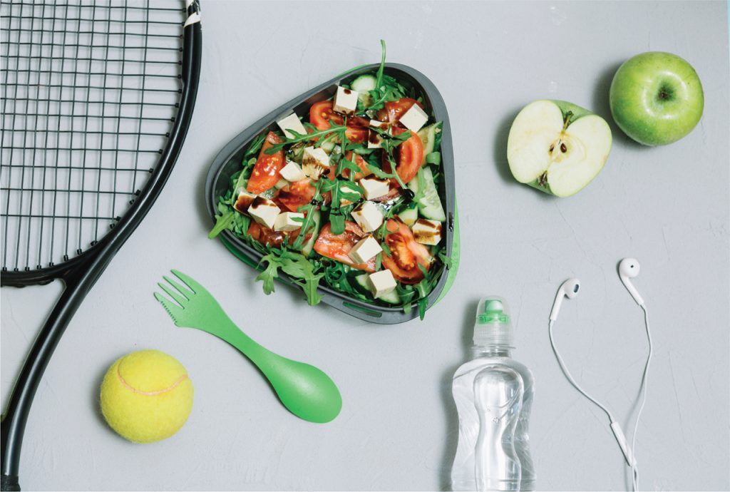 رژیم غذایی تنیس بازان