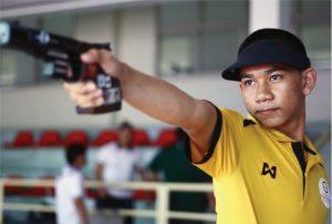 تغذیه ورزشکاران حرفه تیراندازی
