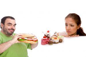 آیا تمایل به مواد غذایی در مردها و زنان متفاوت است؟