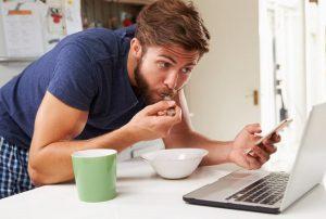 تاثیر روش غذا خوردن در کاهش وزن