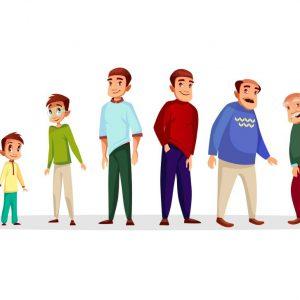 چرا با افزایش سن فرم بدن تغییر میکند؟