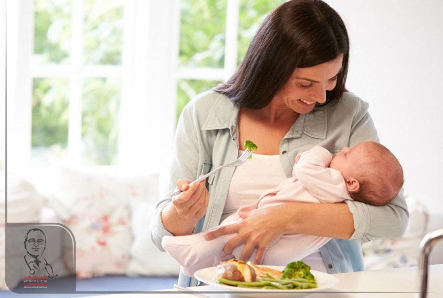 کاهش وزن در دوران شیردهی