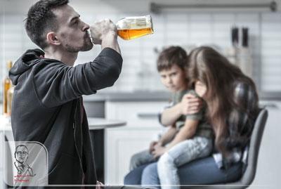 پیامدهای نوشیدن الکل