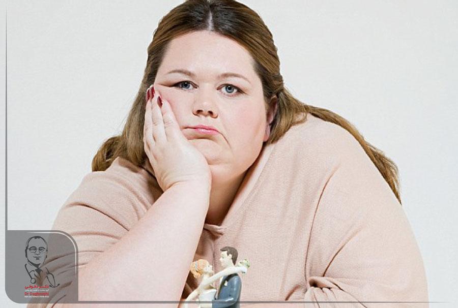 مشکلات روحی و کاهش وزن