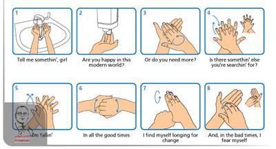 شستن صحیح دست ها