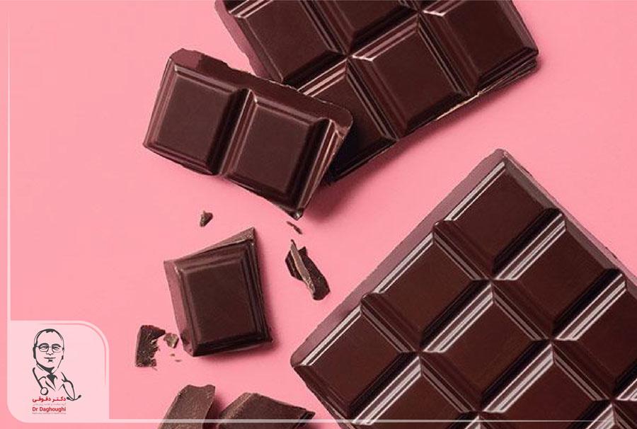 شکلات تلخ و خواص منحصر به فرد آن