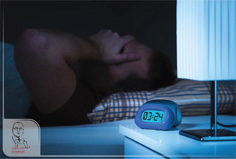 اختلالات خواب باعث چاقی می شود