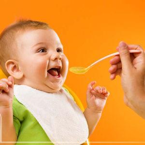 تغذیه تکمیلی نوزادان