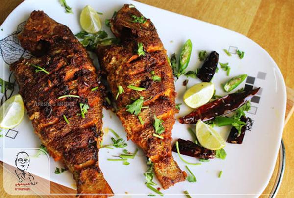 ماهی کبابی و چربی امگا 3