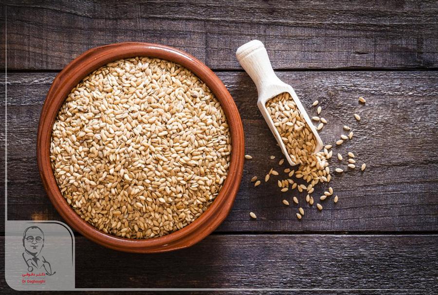 کاهش وزن با بذر کتان