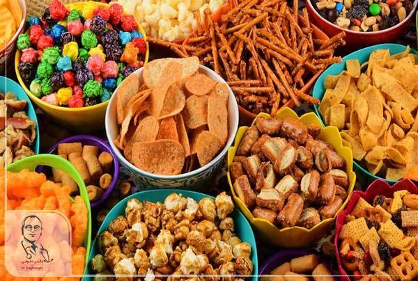 خوراکی های فراوری شده