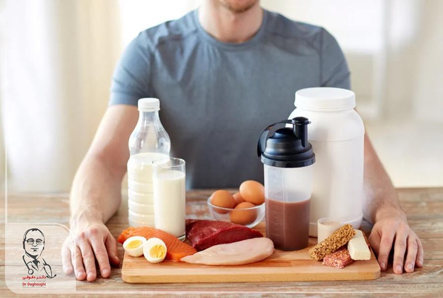 نیازهای پروتئینی ورزشکاران