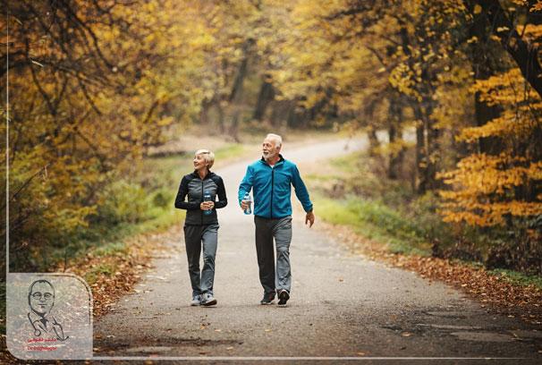 کاهش چربی خون با پیاده روی