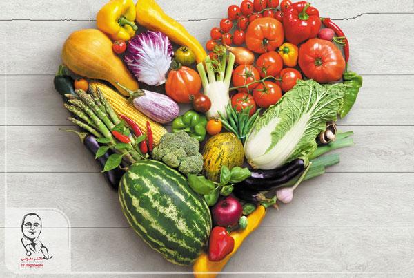 مزایای رژیم خام گیاهخواری