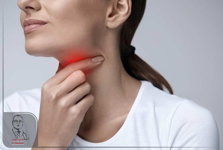 التهاب گلو و راههای درمان آن