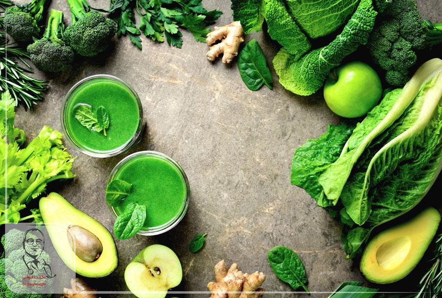 سبزیجات غنی از آهن