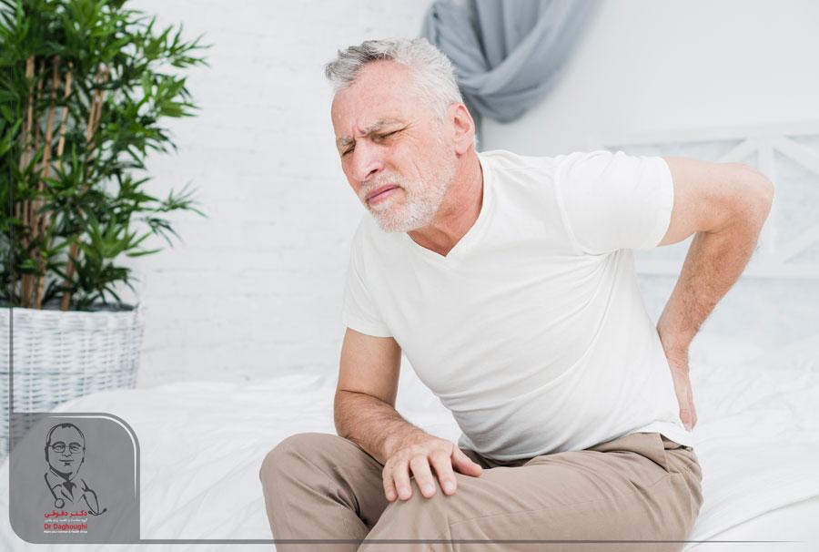 درد لگن در حین نشستن